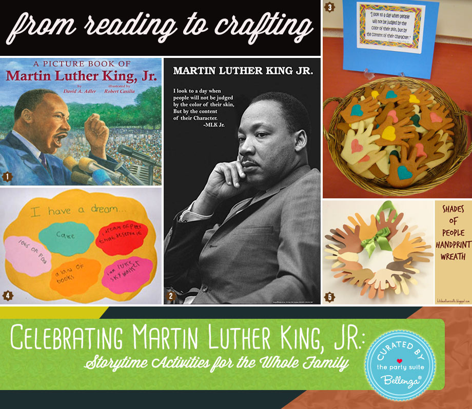 Celebrating Martin Luther King: Storytime Party Activities and Books for the Whole Family