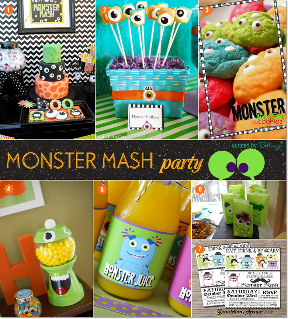 A Monster Mash Party Theme for Halloween | The Party Suite at Bellenza