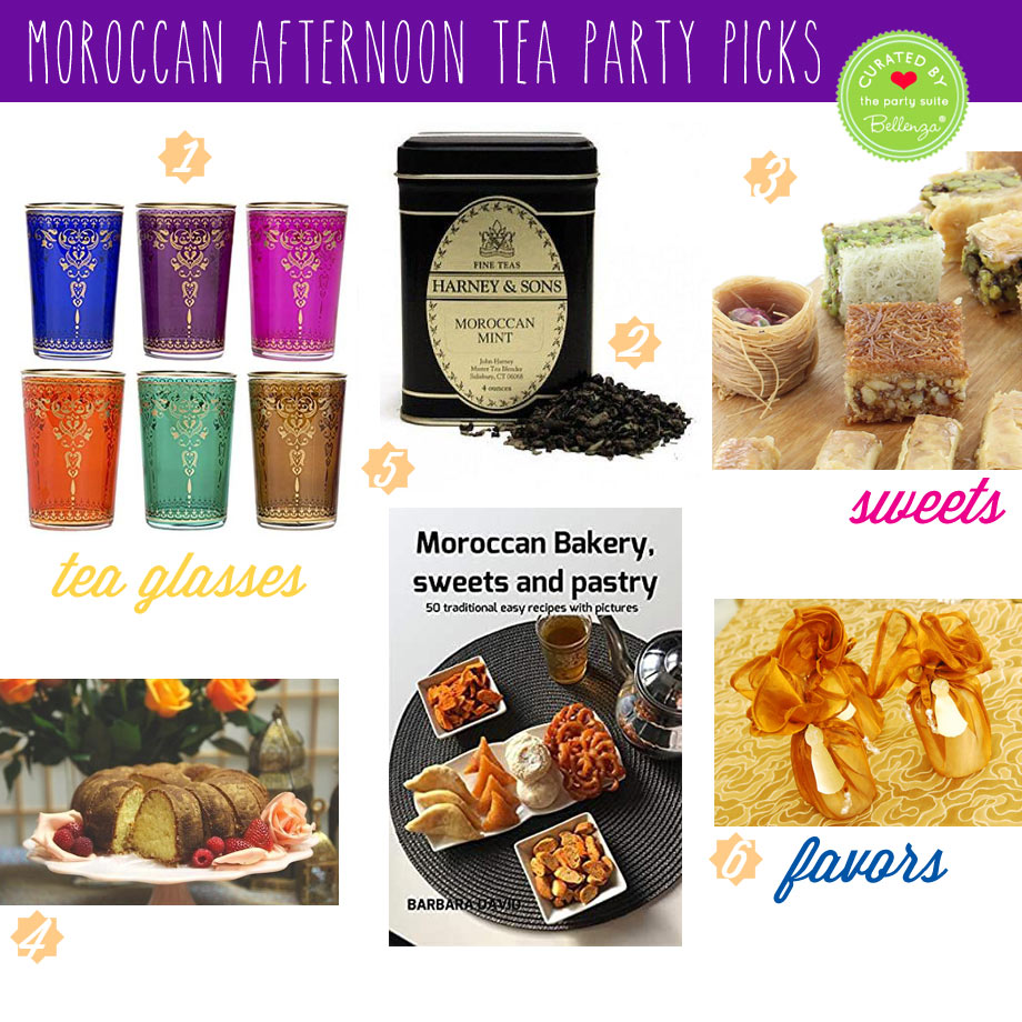 Moroccan-inspired Recipe and Serving Ideas and Favors