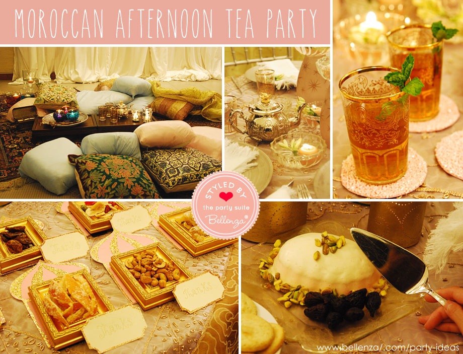 Luxe Moroccan Tea Party Setting