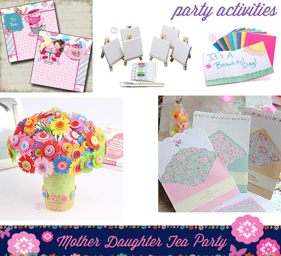 Mother Daughter Tea Party Activities