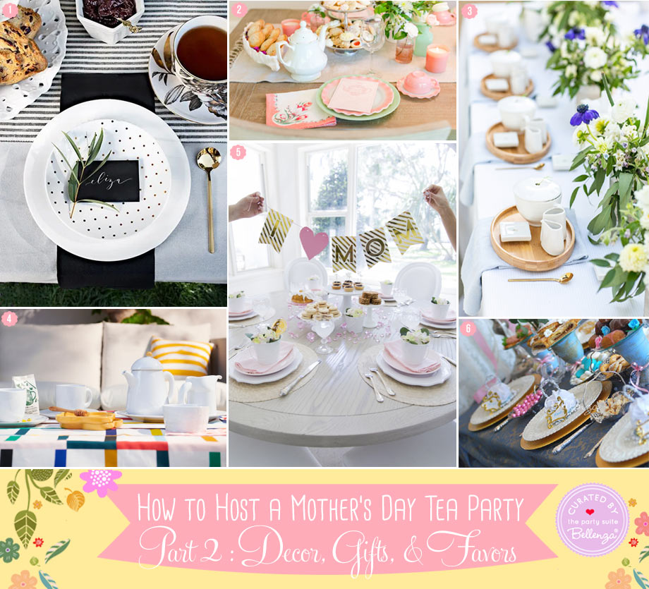 Mother's Day tablescapes