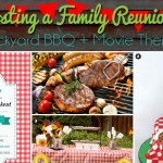 Backyard BBQ + Movie Theme: Family Reunion Ideas