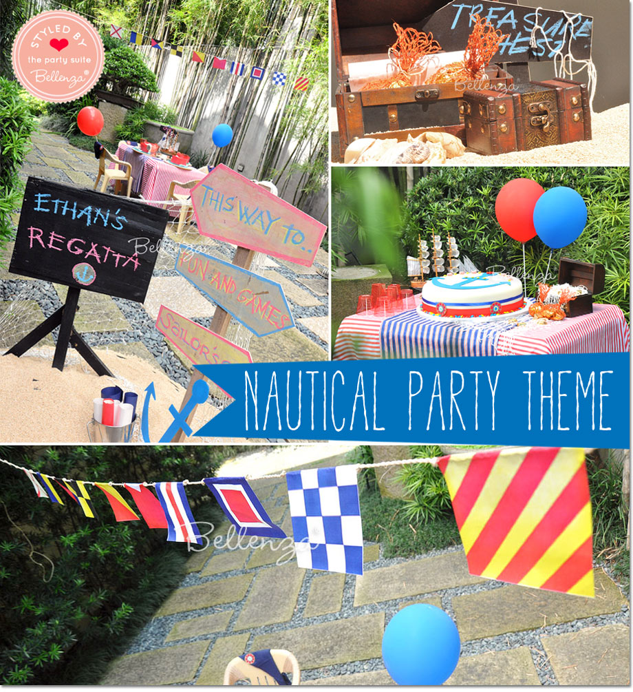 Theme: Sailor-themed Birthday Party