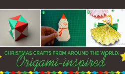 DIY Christmas Decor Inspired by Japanese Origami