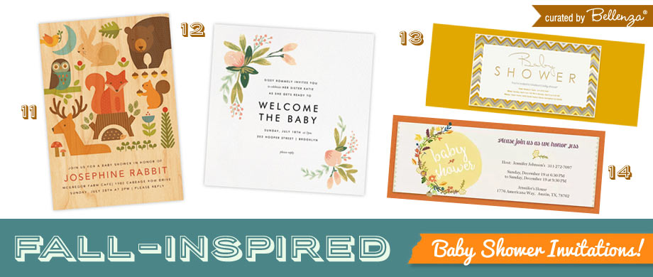 Fall Baby Shower Paperless Invitations