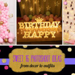 How to plan a Sweet 16 photoshoot from outfits to decor