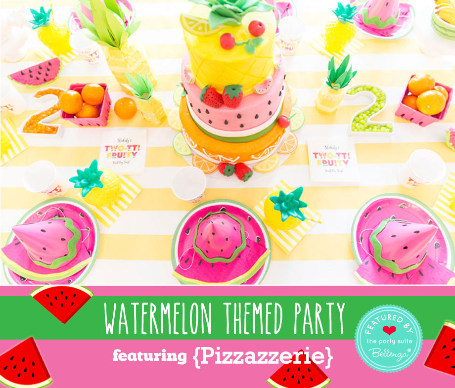 Two-tti Fruity Birthday Party, by Pizzazzerie