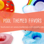 Cool pool themed favors for adults