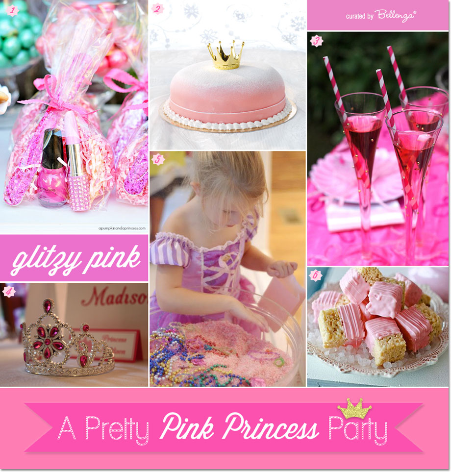 Details for a Princess Party in Glamorous Pink! #princessparty #pinkprincessparty