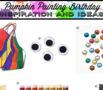 Pumpkin Painting Birthday Party