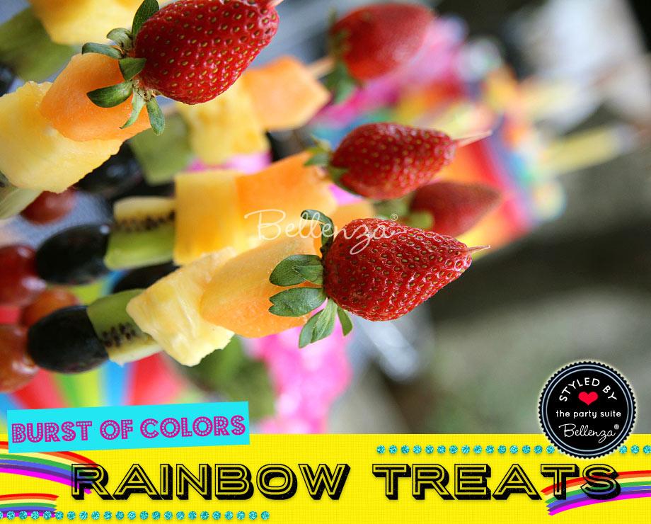 DIY Rainbow Treats and Desserts