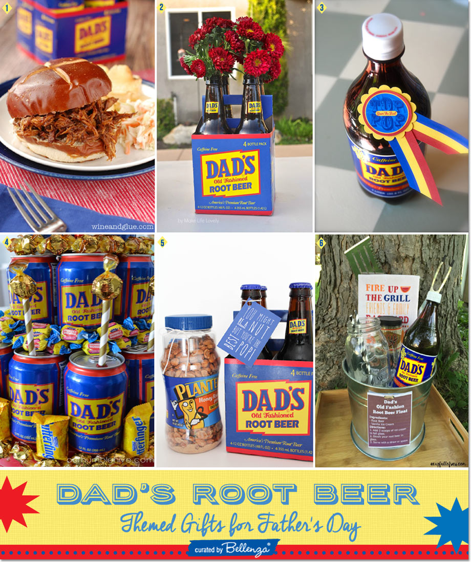 Dad's Root Beer-inspired Gift Ideas from Root Beer Float Kits to Tower Cakes