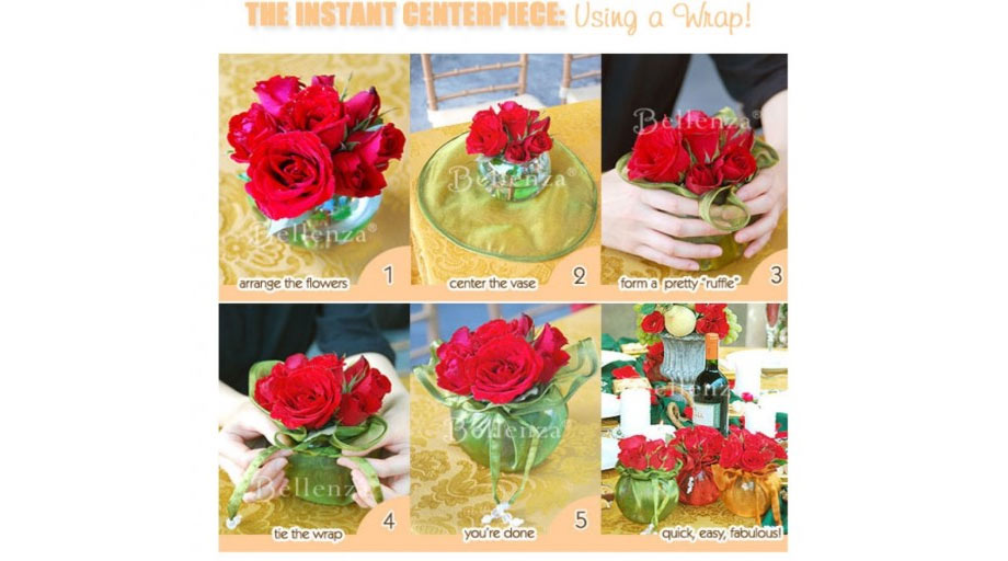 Roses wrapped in jar