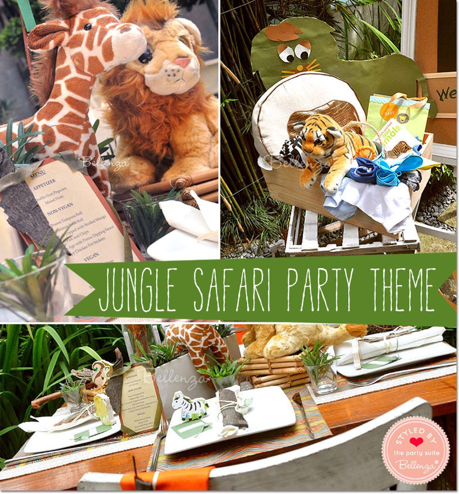 Theme: Jungle Safari Baby Shower