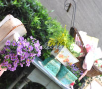 how to decorate a spring shabby chic baby shower by bellenza