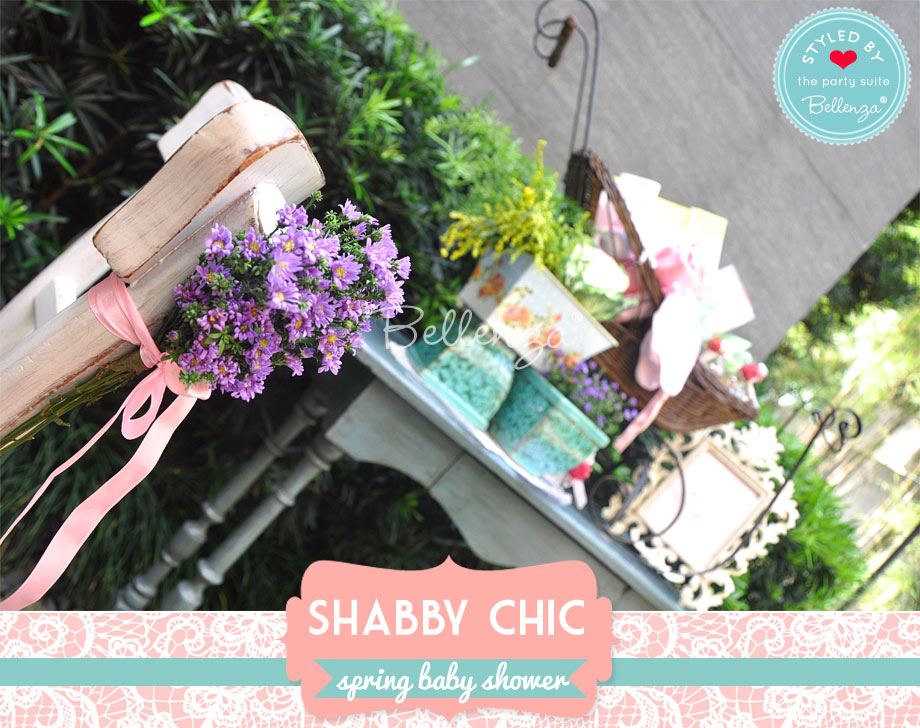 shabby chic gifts table