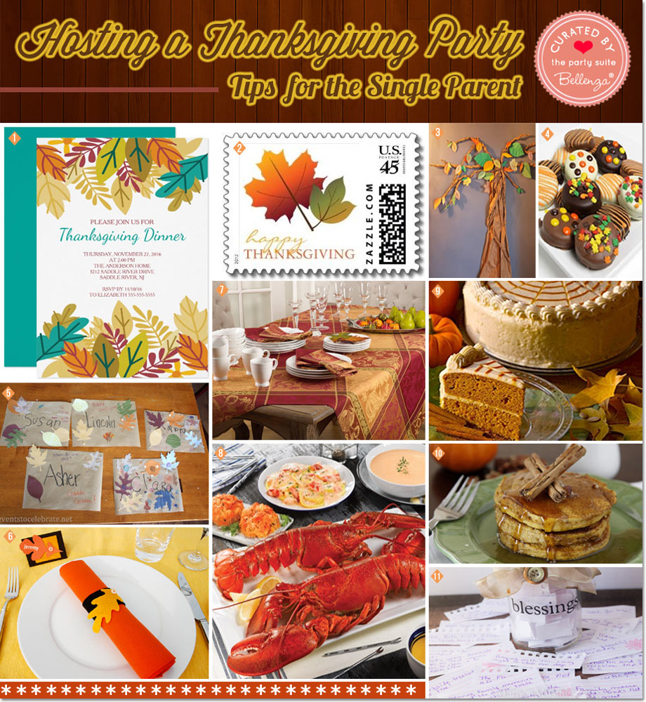 Hosting a Thanksgiving Party as a Single Parent  | 10 Practical Tips