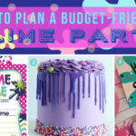 Budget-friendly Slime-themed Party DIY decorations and food