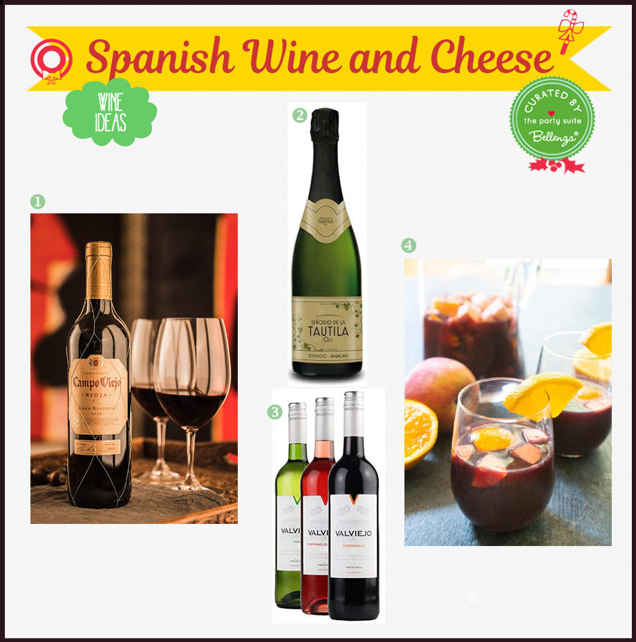 Spanish wines for the holidays