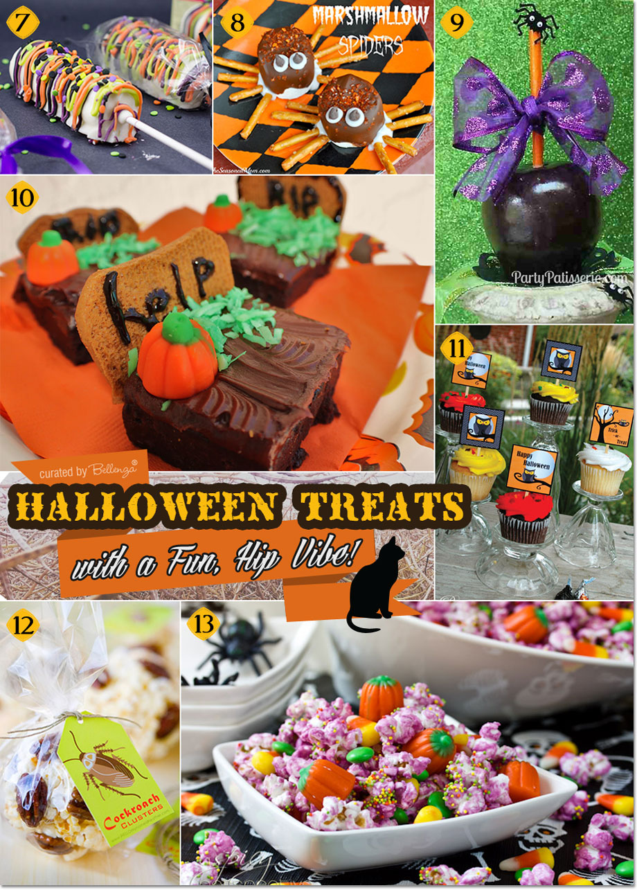 Spooky Halloween Treats that you can DIY