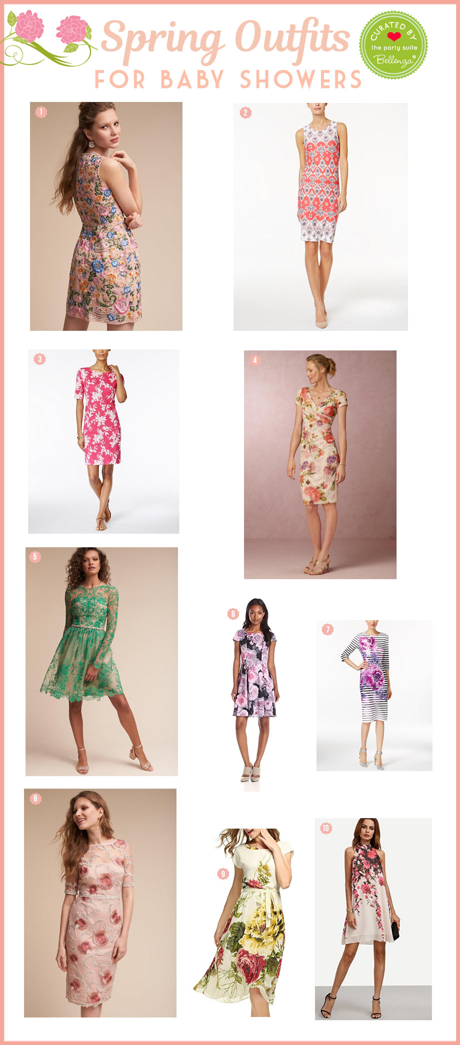 10 Spring Outfits for Baby Shower Guests