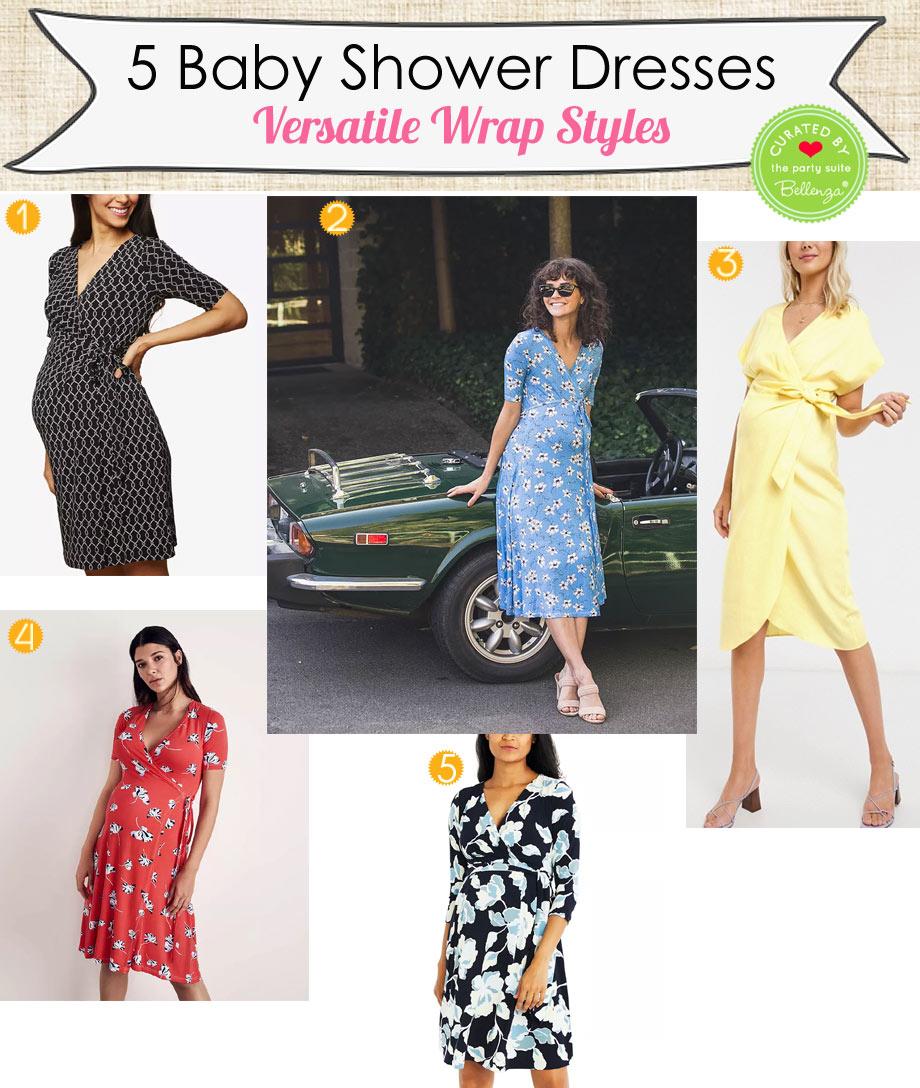 Versatile Maternity Wrap Dresses