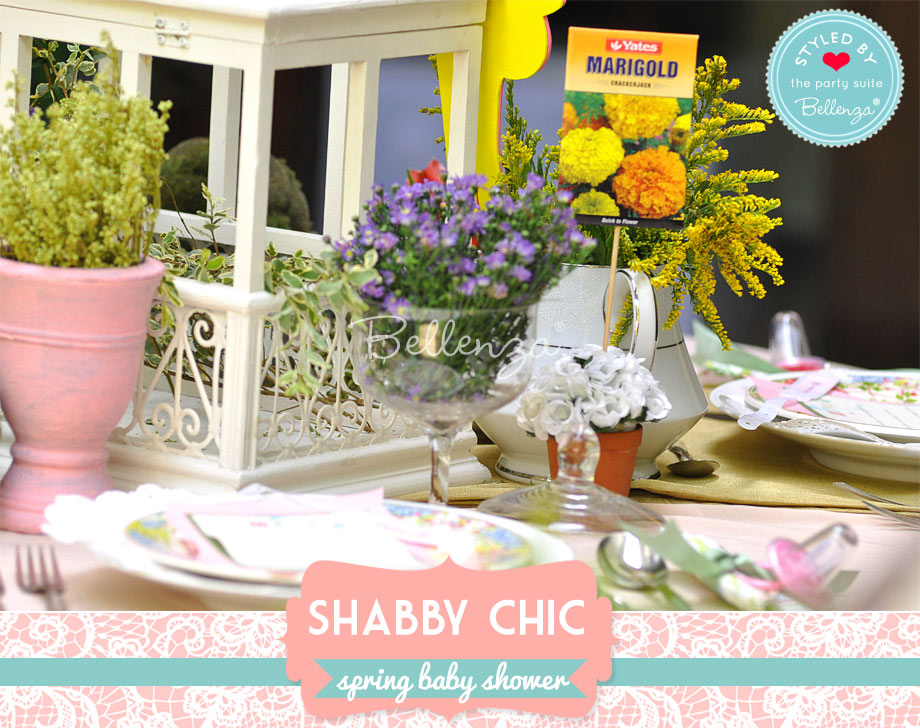 table decorations and centerpieces for spring shabby chic baby shower
