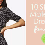 Stylish Spring Baby Shower Dresses for Mom-to-Be