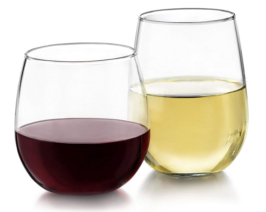 Glasses Libbey via Amazon