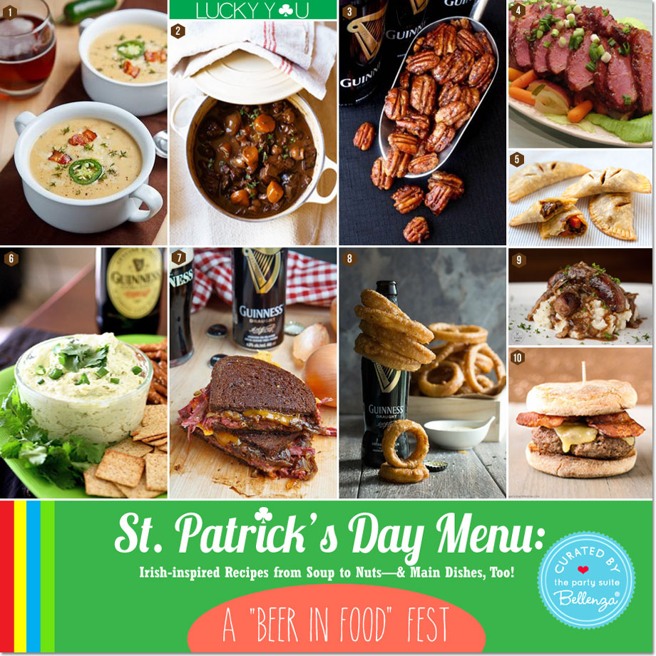 Irish-inspired Recipes from Soup to Nuts—and Main Dishes for St. Patrick's Day