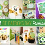 St. Patrick' Day Party Printables | as featured on the Party Suite at Bellenza.