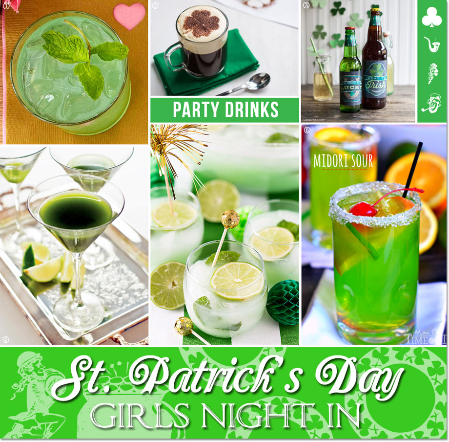 St. Patrick's Day Girls Night In Cocktails and Coffee // curated by Bellenza