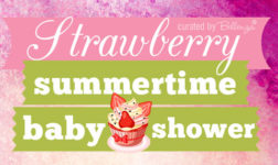 A Sunny Strawberry Theme for a Summertime Baby Shower!