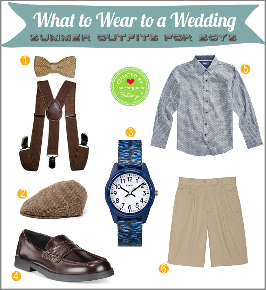 Summer outfit for a wedding with a vintage style