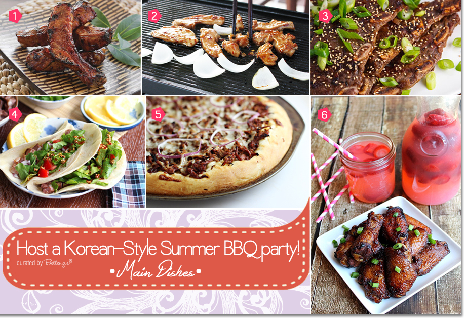 Recipe Ideas for Korean BBQ Party from Kalbi Tacos to Korean BBQ Pizza