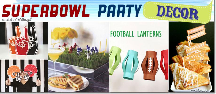 Stylish Super Bowl Party Decorations