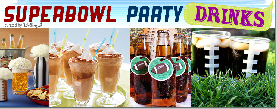 Super Bowl Drinks and Rootbeer floats
