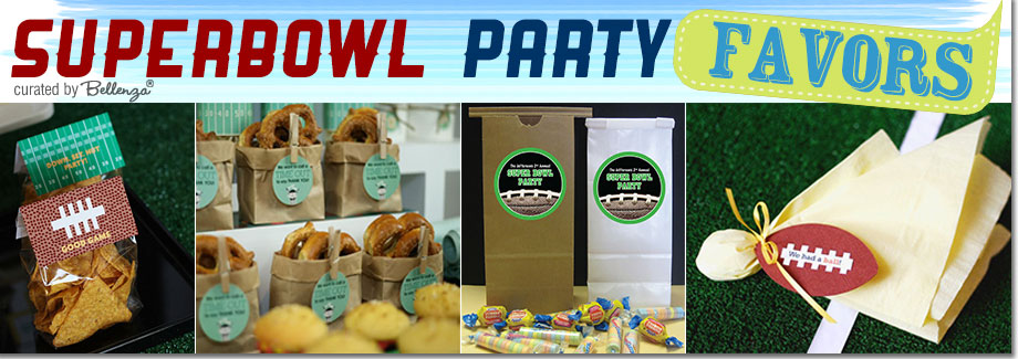 Super Bowl Party Favors Ideas