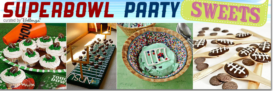 Super Bowl Sweets and Desserts and Cake Pops