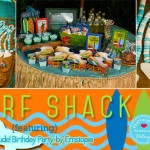 5 Great Posts to Inspire Your Own Surf Shack Birthday Party!