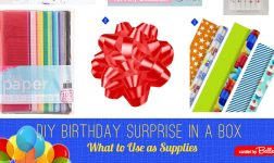 DIY Birthday Surprise in a Box - How-to Ideas and Supplies