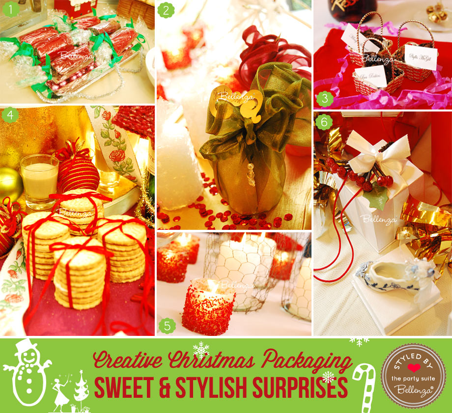 Handmade Christmas gifts from cookies to party crackers