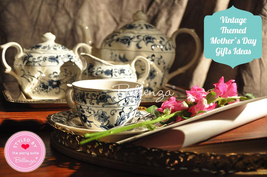Verses on a Vintage Tea Service of Her Favorite Afternoon Goodies.