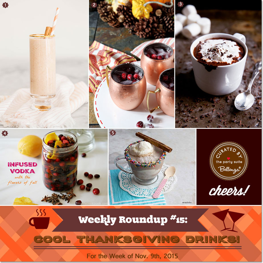Thanksgiving Drinks Recipes to Try!