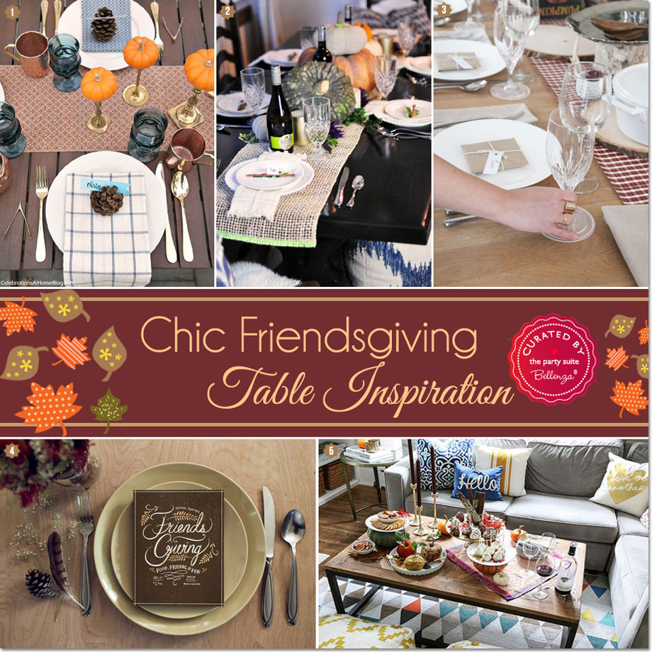 Thanksgiving table ideas that are stylish and simple!