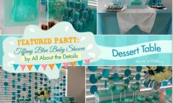Tiffany Blue Baby Shower by All About the Details