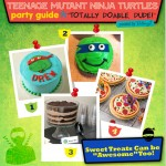 TMNT Party Treats and Sweets