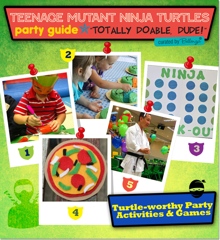 TMNT Party Games and Activities for Kids!