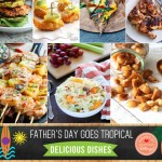 Tropical Father's Day BBQ Party Ideas
